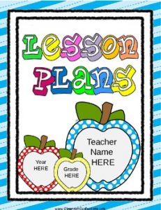 pre k lesson plan template original
