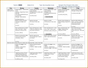 pre k lesson plan templates pre k lesson plan template