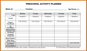 pre k lesson plan templates pre k lesson plan template preschool lesson plan