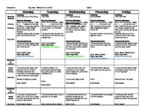 pre kindergarten lesson plan template feeaacdbadd preschool lesson plans preschool curriculum