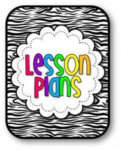 prek lesson plan template lesson plans