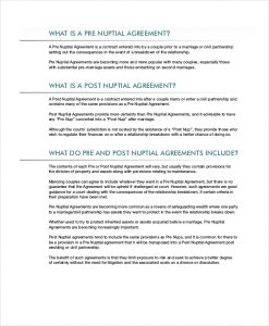 prenup agreements template post prenuptial agreement template in pdf