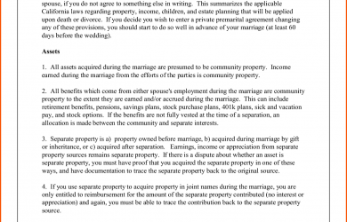 prenuptial agreement sample sample prenuptial agreement