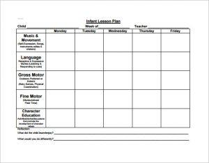 preschool lesson plan template two year old preschool lesson plan pdf free download