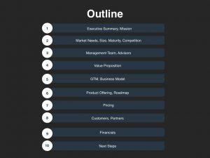 presentation outline template investor presentation template outline