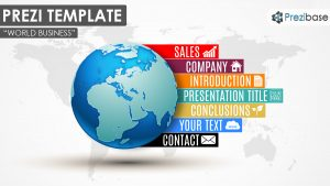 prezi presentation example world business d colorful infographic company earth diagram professional prezi template presentations