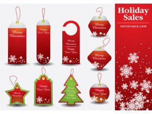 price tag template christmas tag