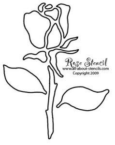 print out stencils xfreerosestencil jpg pagespeed ic lhqsfi k