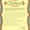 print out sympathy card xmas carol quiz