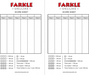 printable baseball score sheet farkle score cards