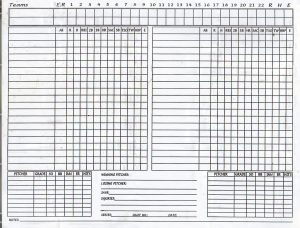 printable baseball score sheet scoresheet ()