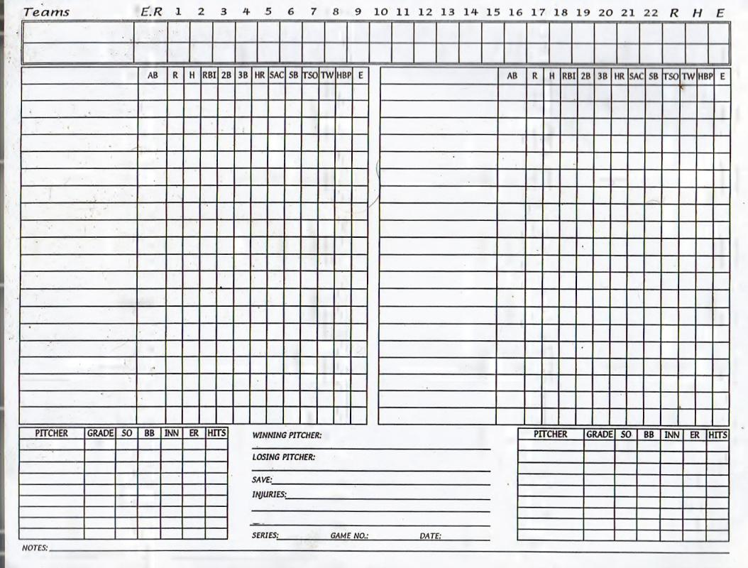 photograph about Free Printable Farkle Sheets called Printable Baseball Ranking Sheet Template Office environment