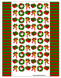 printable candy wrappers christmas candy wrapper