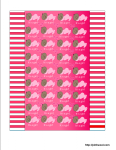 printable candy wrappers girlcandy