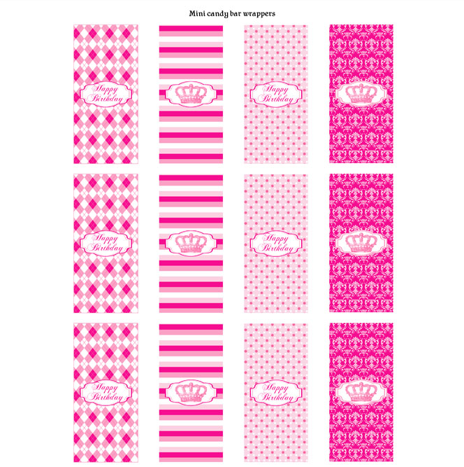 printable candy wrappers