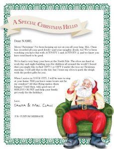 printable christmas gift certificates christmas letter template free christmas letter templates the intended for santa christmas letter template