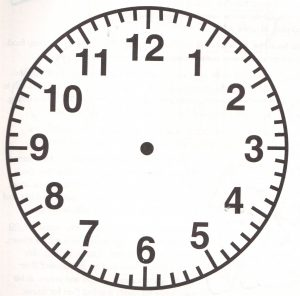 printable clock face eimzkcn