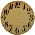 printable clock face clock face via knick of time copy