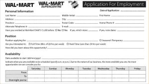 printable doctor note job application questions walmart job application