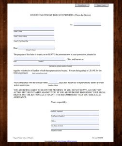 printable eviction notice free printable eviction notice