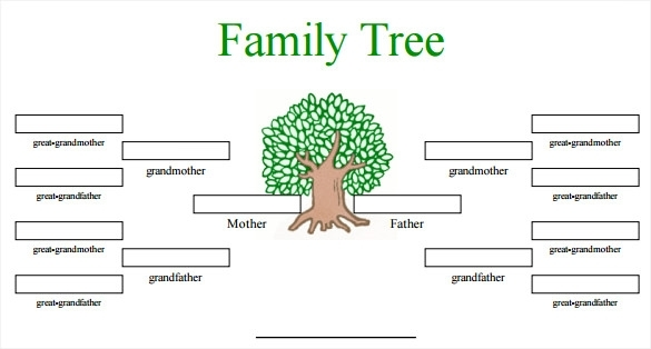 image about Printable Family Tree Maker called Printable Loved ones Tree Producer Template Business office