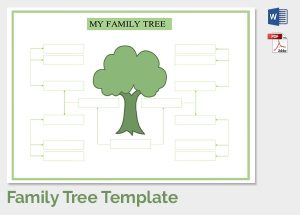 printable family tree maker family tree template free printable word excel pdf psd regarding family tree maker templates