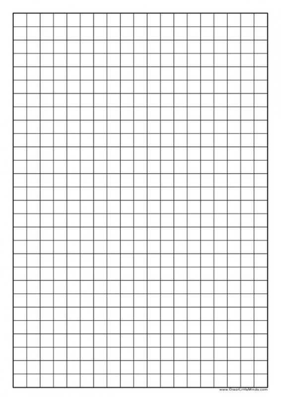 Printable Graph Paper Pdf  Engineering Graph Paper Template