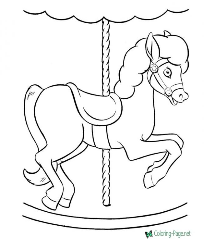 printable horse pictures