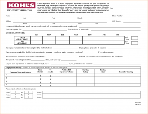 Job Application Printable | Printable Job Applications Template Business