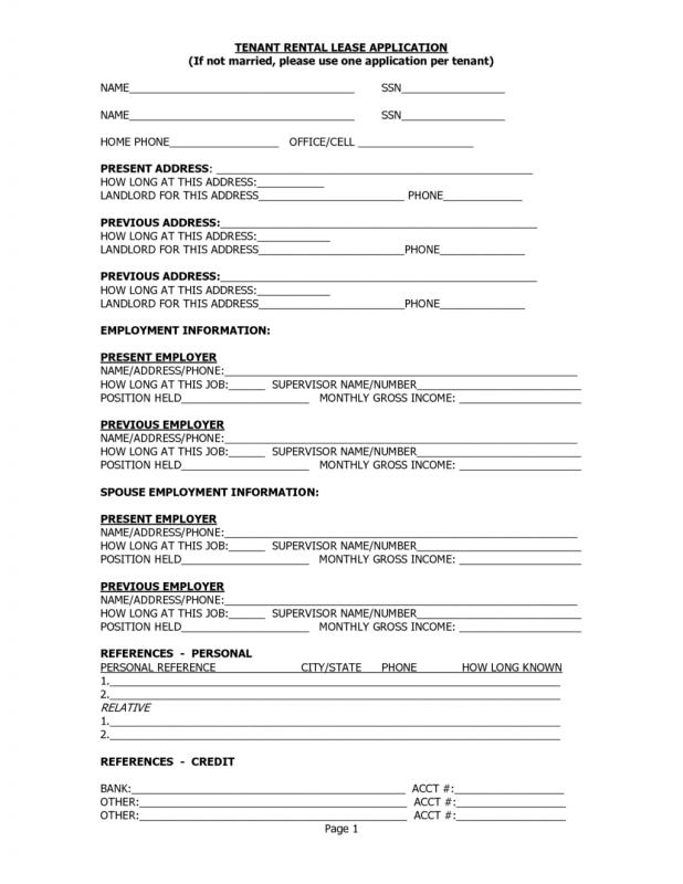 Printable lease agreement template business for Housing lease template