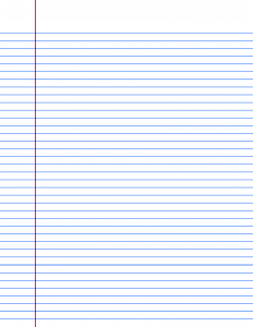 Lined paper pdf college ruled