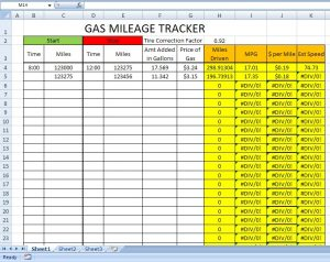 printable mileage log capture
