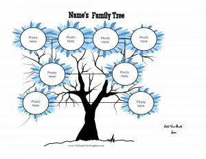 printable newsletter templates free printable family tree template x