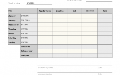 printable pay stubs weekly timesheet template