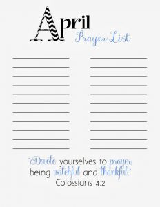 printable prayer list reso april prayer list