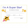 printable registration form template star award certificate template l