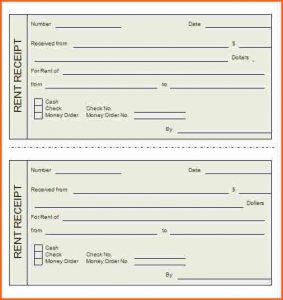 printable rent receipt printable rent receipt rent receipt template