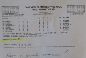 printable report cards report card