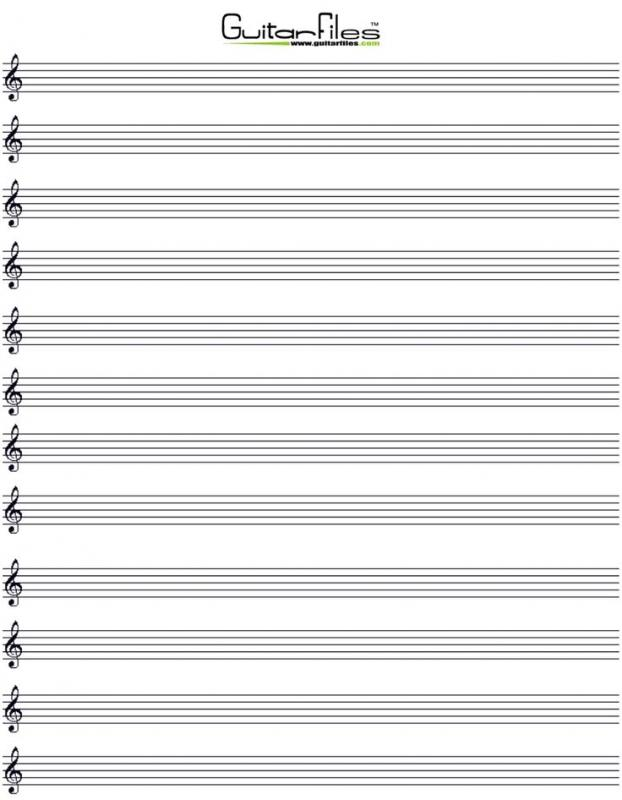music staff paper template - Acur.lunamedia.co