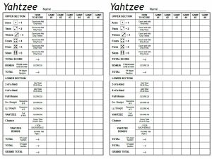 printable time sheet free yahtzee score sheets card