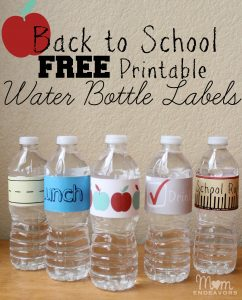 printable water bottle labels free printable water bottle labels
