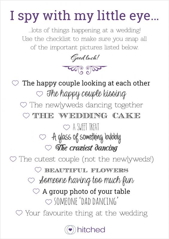 printable wedding guest list