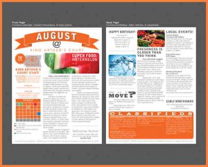 printed newsletter templates printed newsletter templates apartment newsletter templates