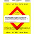 privacy act statement printable privacy act covet sheet free download