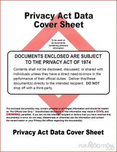 privacy act statement privacy act data cover sheet pureprivacyactcoversheet