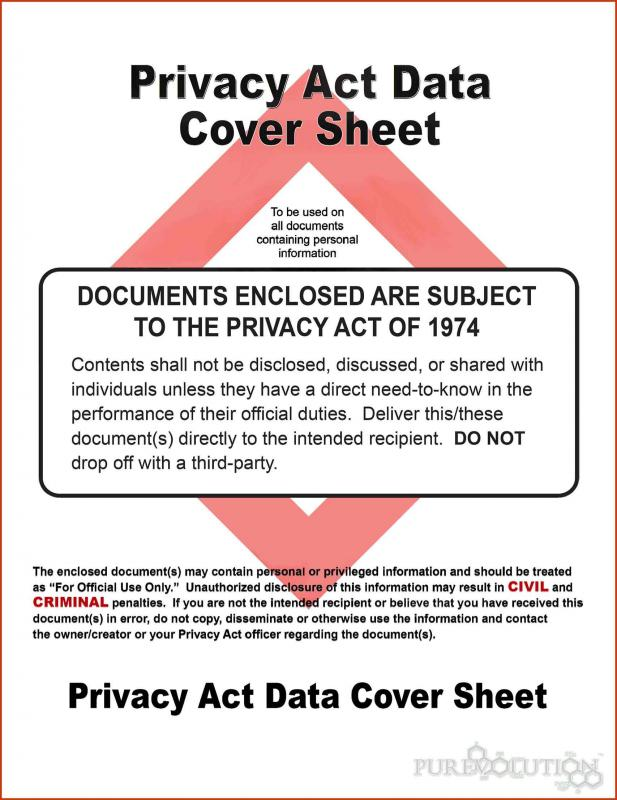 business plan cover page confidentiality statement hipaa