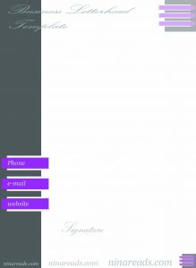 privacy policy samples purple theme business letterhead template