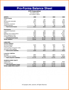 pro forma income statement template pro forma income statement template pro forma income statement example