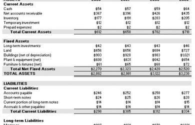 pro forma income statement template proforma