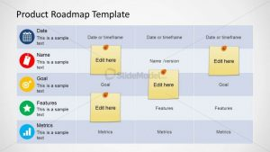 product comparison template product roadmap template x
